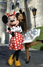 ARIANA GRANDE Performs at Disney Parks