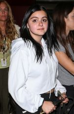 ARIEL WINTER Arrives at LAX Airport in Los Angeles 11/20/2015