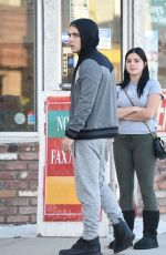ARIEL WINTER Out and About in Los Angeles 11/19/2015