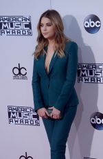 ASHLEY BENSON at 2015 American Music Awards in Los Angeles 11/22/2015