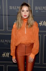 ASHLEY BENSON at Balmain x H&M Los Angeles VIP Pre-launch in West Hollywood 11/04/2015