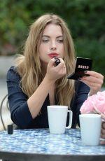 ASHLEY BENSON at Buxom Bold Gel Lipstick Photoshoot in Los Angeles 11/02/2015