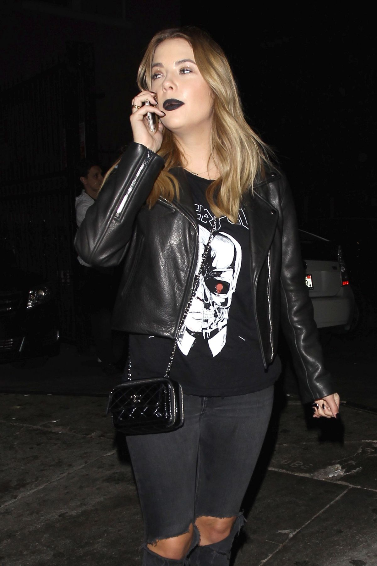ashley benson at just jared halloween party in hollywood 10312015 - Halloween Parties In Hollywood