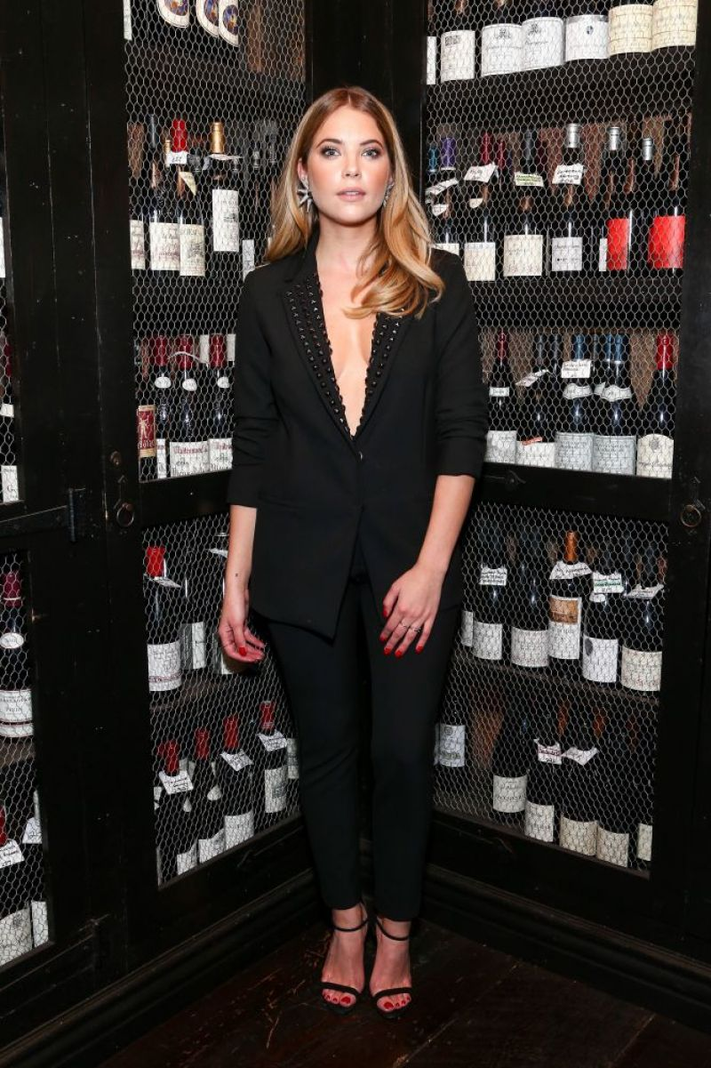 ASHLEY BENSON at Nicole Miller and Flaunt Magazine Celebrate the Dial-up Issue and Holiday Collection in Los Angeles 11/12/2015