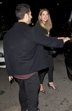 ASHLEY BENSON Leaves The Nice Guy Bar in West Hollywood 11/13/2015