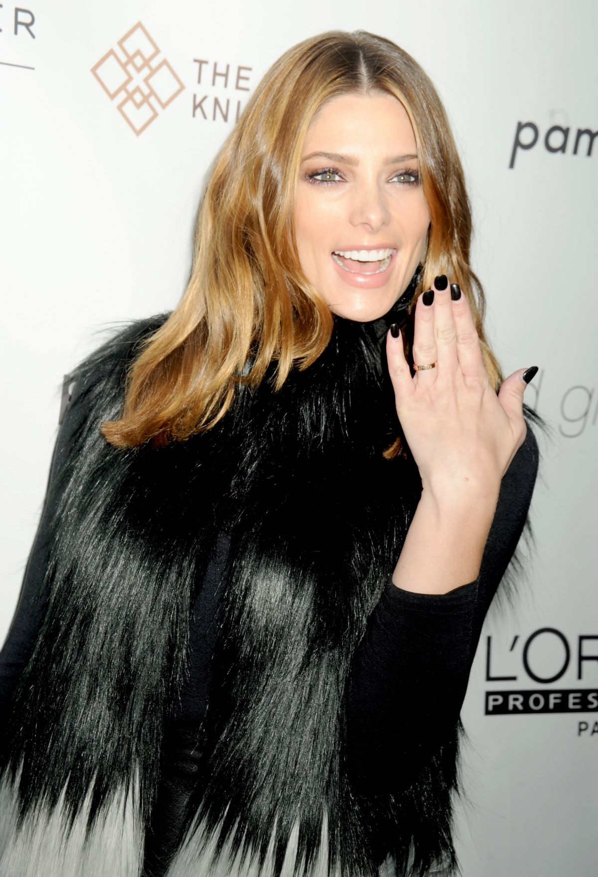 ASHLEY GREENE at Ted Gibson