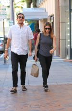 ASHLEY GREENE Out Shopping in Beverly Hills 10/30/2015