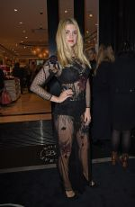 ASHLEY JAMES at Boux Avenue Oxford Street Store Launch in London 11/04/2015