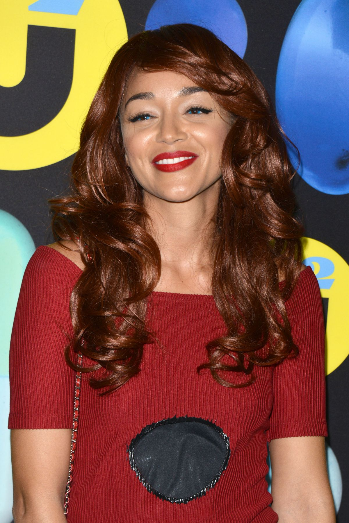 ASHLEY MADEKWE at Just Jared Halloween Party in Hollywood 10/31/2015
