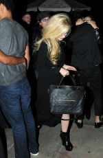 AVRIL LAVIGNE Out for Dinner 11/14/2015