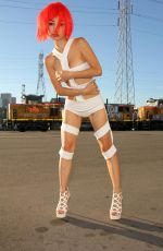 BAI LING as Leeloo from The Fifth Element 10/31/2015