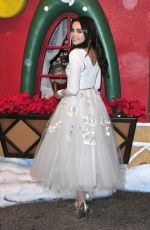 BAILEE MADISON at Northpole: Open for Christmas Screening in Los Angeles 11/17/2015