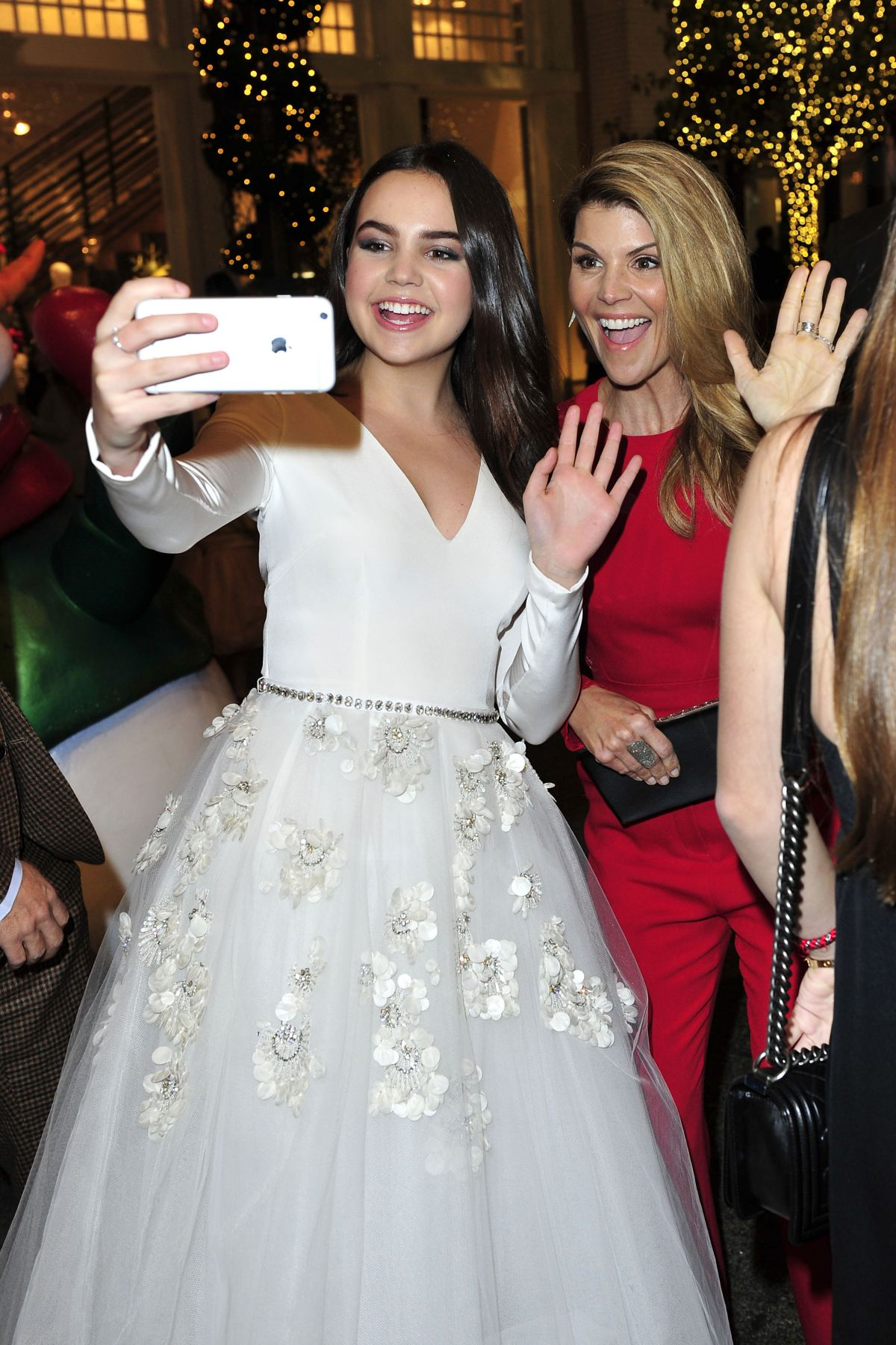 Northpole Open For Christmas.Bailee Madison At Northpole Open For Christmas Screening In