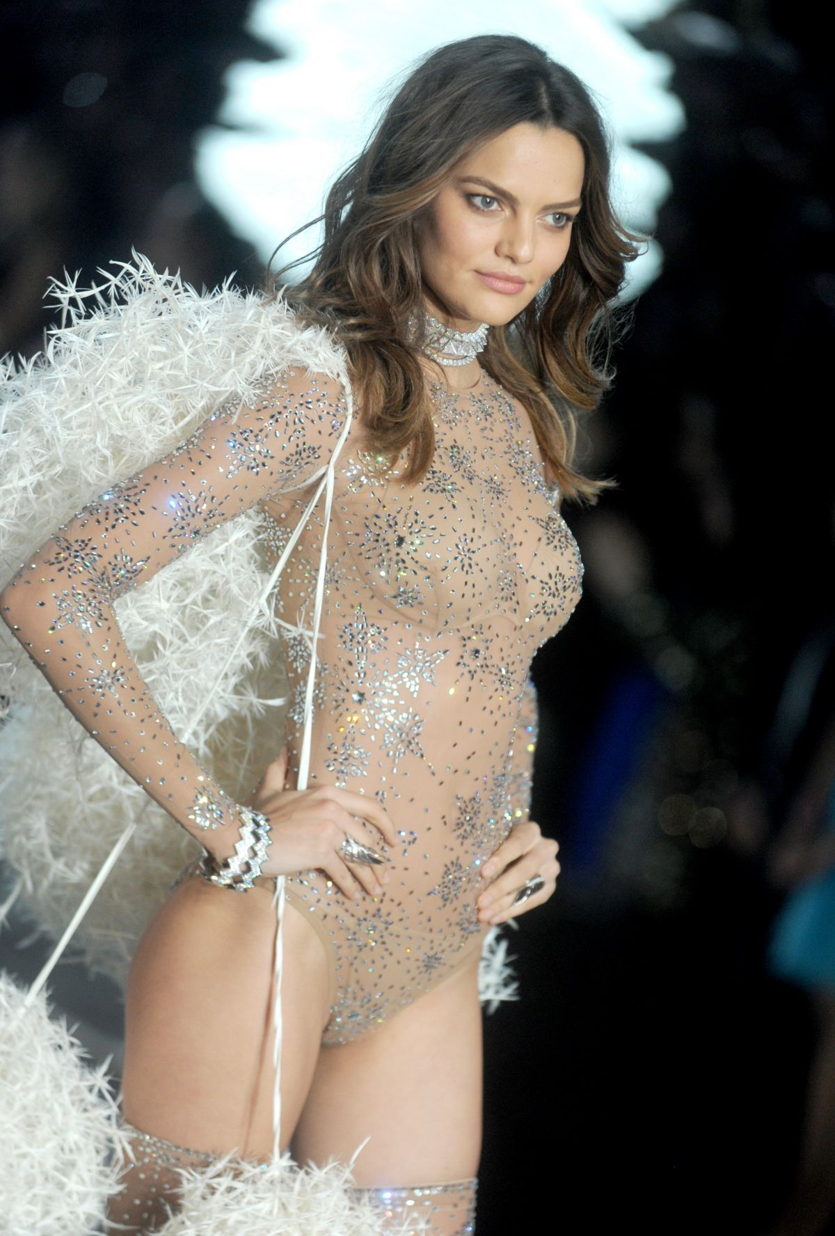 BARBARA FIALHO at Victoria's Secret 2015 Fashion Show in New York 11/10/2015
