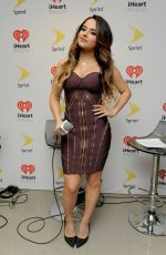 BECKY G at Iheartradio Fiesta Latina in Miami 11/07/2015