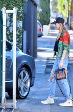 BEHATI PRINSLOO at a Rolls Royce Dealership in Beverly Hills 11/24/2015