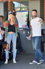 BEHATI PRINSLOO at a Rolls Royce Dealership in Beverly Hills 11/24/2015