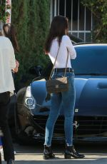 BELLA HADID Out and About in Los Angeles 11/20/2015