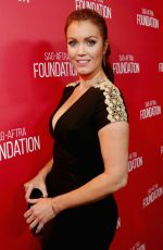 BELLAMY YOUNG at SAG Foundation 30th Anniversary Celebration in Beverly Hills 11/05/2015