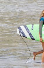 BLAKE LIVELY in Bikini on the Set of The Shallows in New South Wales