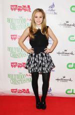 BREC BASSINGER at 2015 Hollywood Christmas Parade in Hollywood 11/29/2015