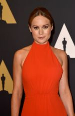 BRIE LARSON at 7th Annual Governors Awards in Hollywood 11/14/2015
