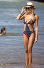 BRITTANY and CYNTHIA DANIEL in Swimsuits a Beach in Hawaii 11/08/2015