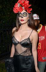 BRITTNY GASTINEAU at Casamigos Halloween Party 10/30/2015