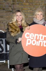 BROOKE KINSELLA at 2015 Sleep Out for Centrepoint at The Old Truman Brewery in London 11/12/2015