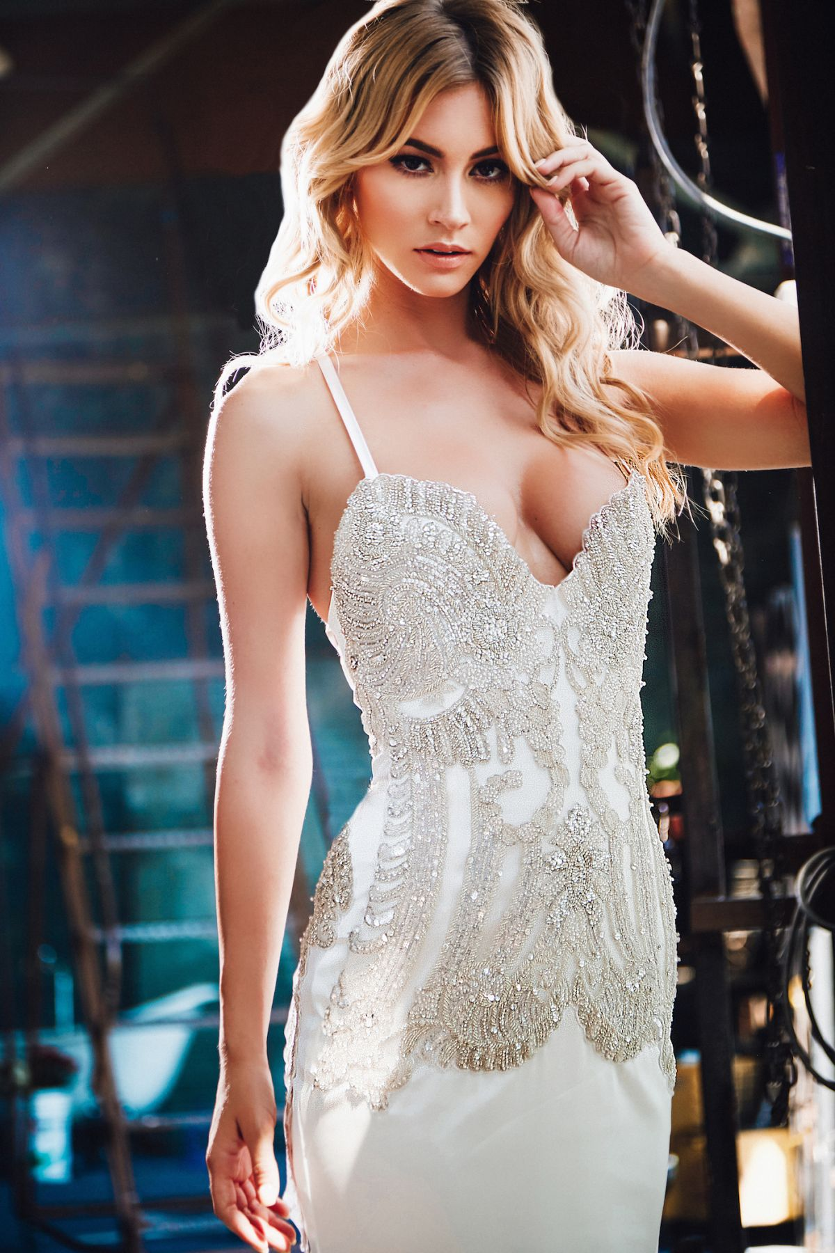 BRYANA HOLLY in Lurelly Bridal Lookbook