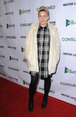 BUSY PHILIPPS at Consumed Los Angeles Premiere at Laemmle Music Hall in Beverly Hills 11/11/2015