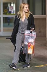 CAITY LOTZ Arrives at Airport in Vancouver 10/30/2015