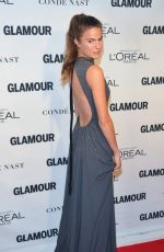 CAMERON RUSSELLL at Glamour's 25th Anniversary Women of the Year Awards in New York 11/09/2015