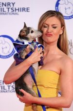 CAMILLA KERSLAKE at Batterseadogs&cats Event in London 11/12/2015