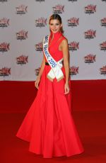 CAMILLE CERF at 17th NRJ Music Awards in Cannes 11/07/2015