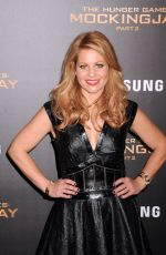 CANDACE CAMERON BURE at The Hunger Games: Mockingjay, Part 2 Premiere in Los Angeles 11/16/2015