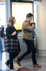CAREY MULLIGAN Arrives at Los Angeles International Airport 11/16/2015