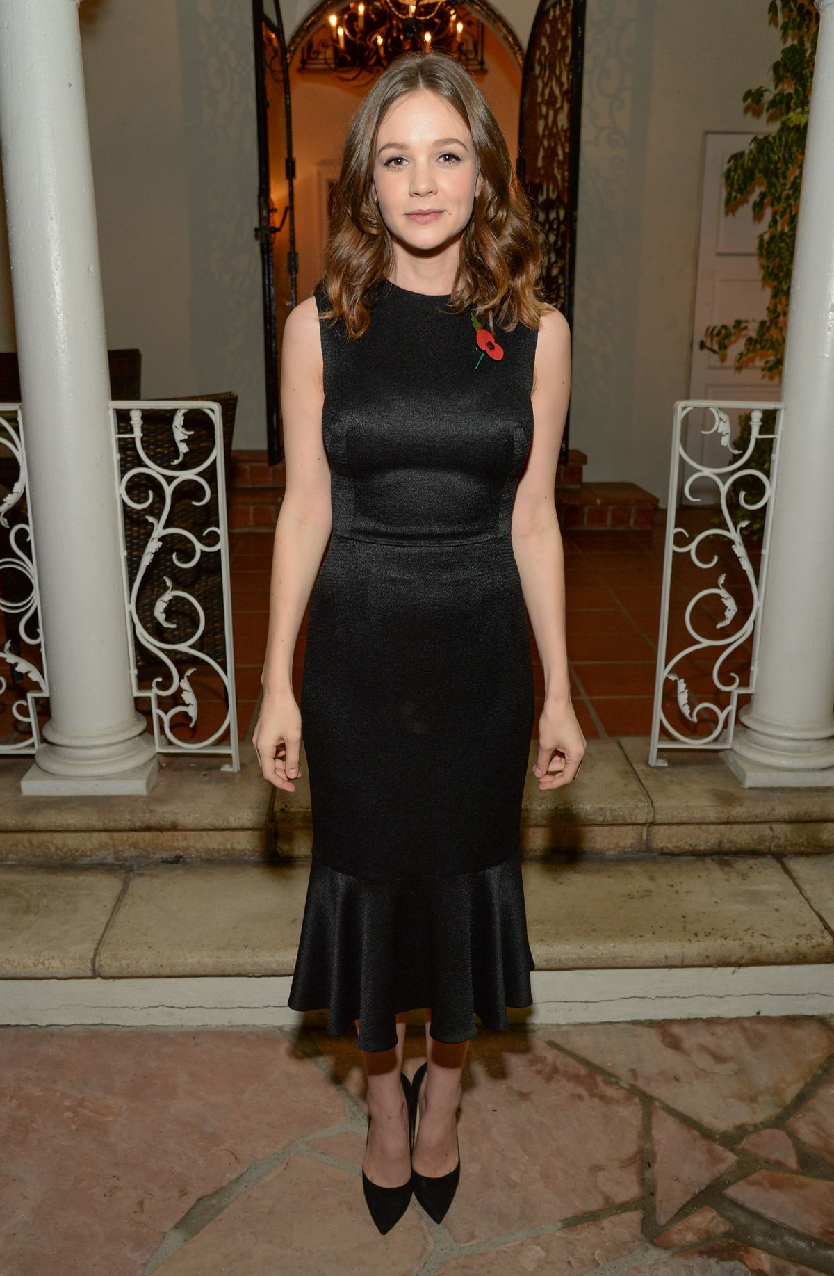 CAREY MULLIGAN at Focus Features Reception for Suffragette in Los ... Carey Mulligan