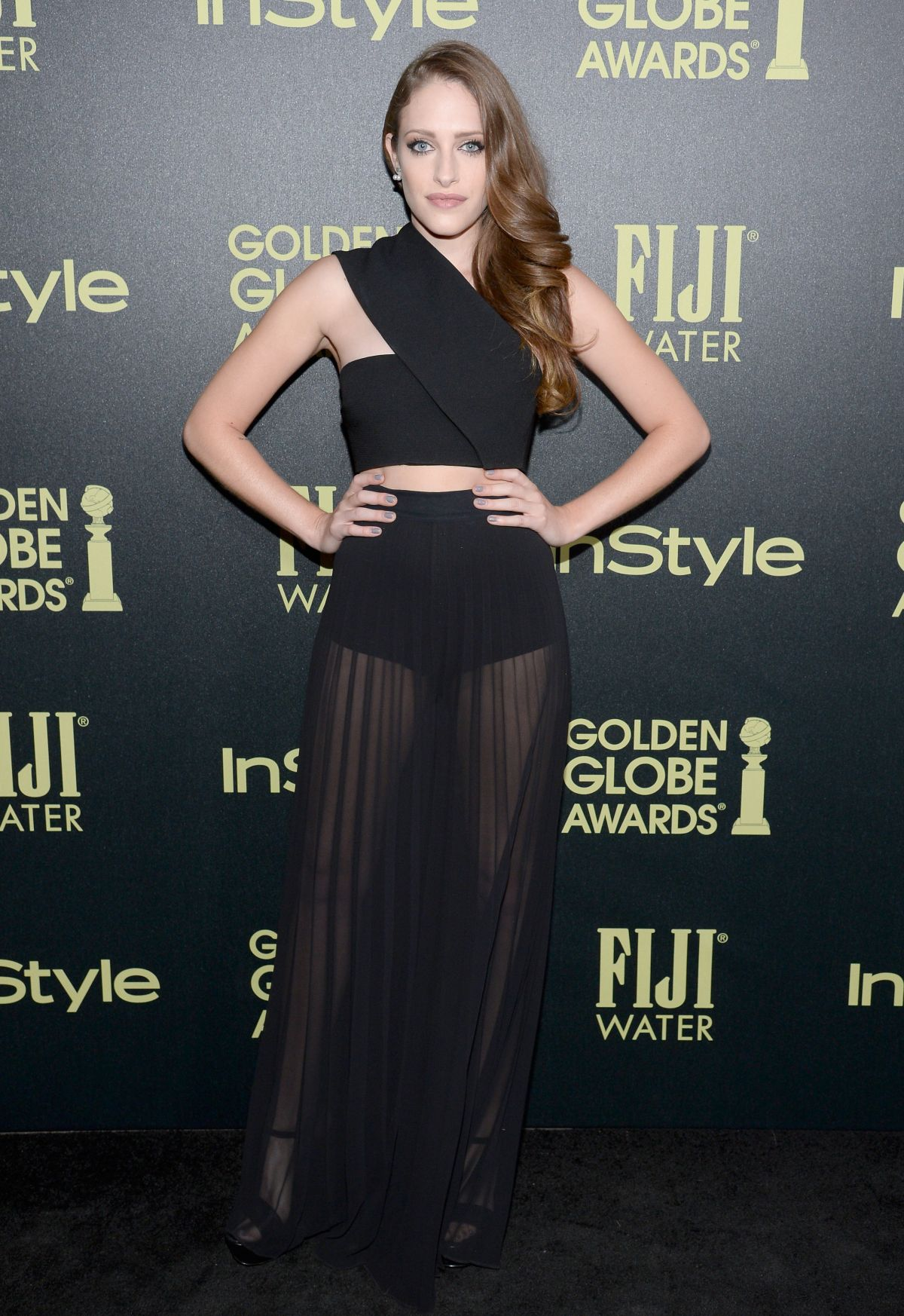 CARLY CHAIKIN at hfpa and Instyle Celebrate 2016 Golden Globe Award Season in West Hollywood 11/17/2015