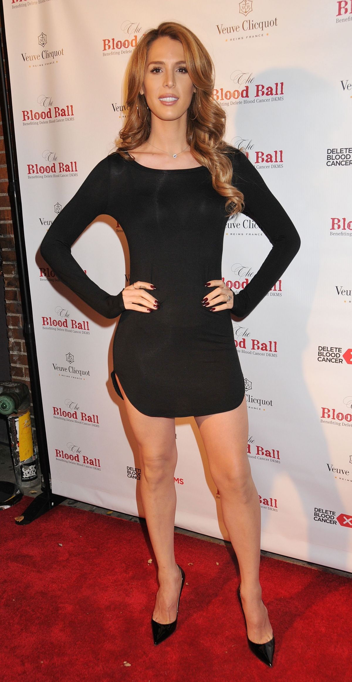 CARMEN CARRERA at The Blood Ball in New York 10/29/2015