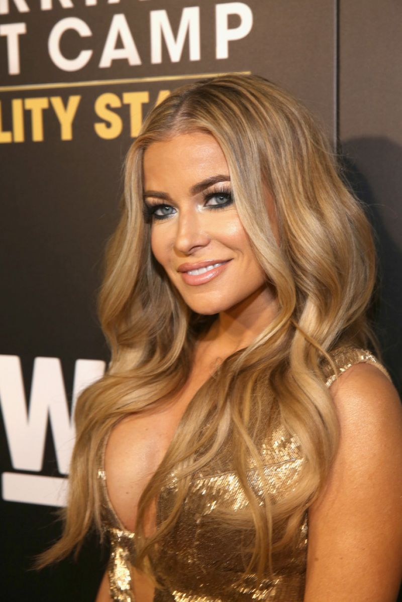 CARMEN ELECTRA at Marriage Boot Camp Reality Stars and Ex ...