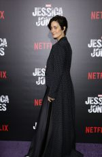 CARRIE-ANNE MOSS at Jessica Jones Premiere in New York 11/17/2015
