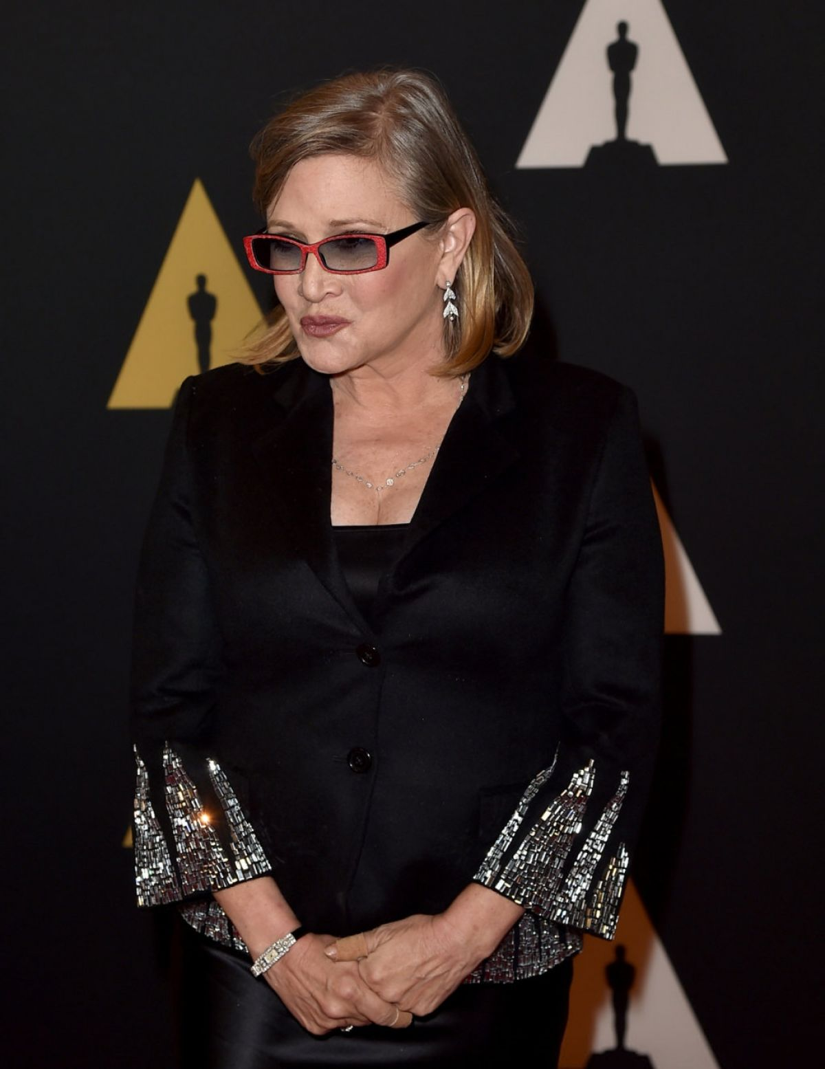 CARRIE FISHER ind BILLIE LOURD at 7th Annual Governors ...