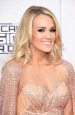 CARRIE UNDERWOOD at 2015 American Music Awards in Los Angeles 11/22/2015