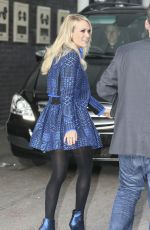 CARRIE UNDERWOOD Leaves ITV Studios in London 11/12/2015