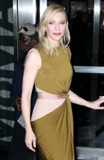 CATE BLANCHETT at Carol Premiere in New York 11/16/2015