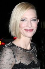 CATE BLANCHETT at Museum of Modern Art Film Benefit Honoring Cate Blanchett in New York 11/17/2015