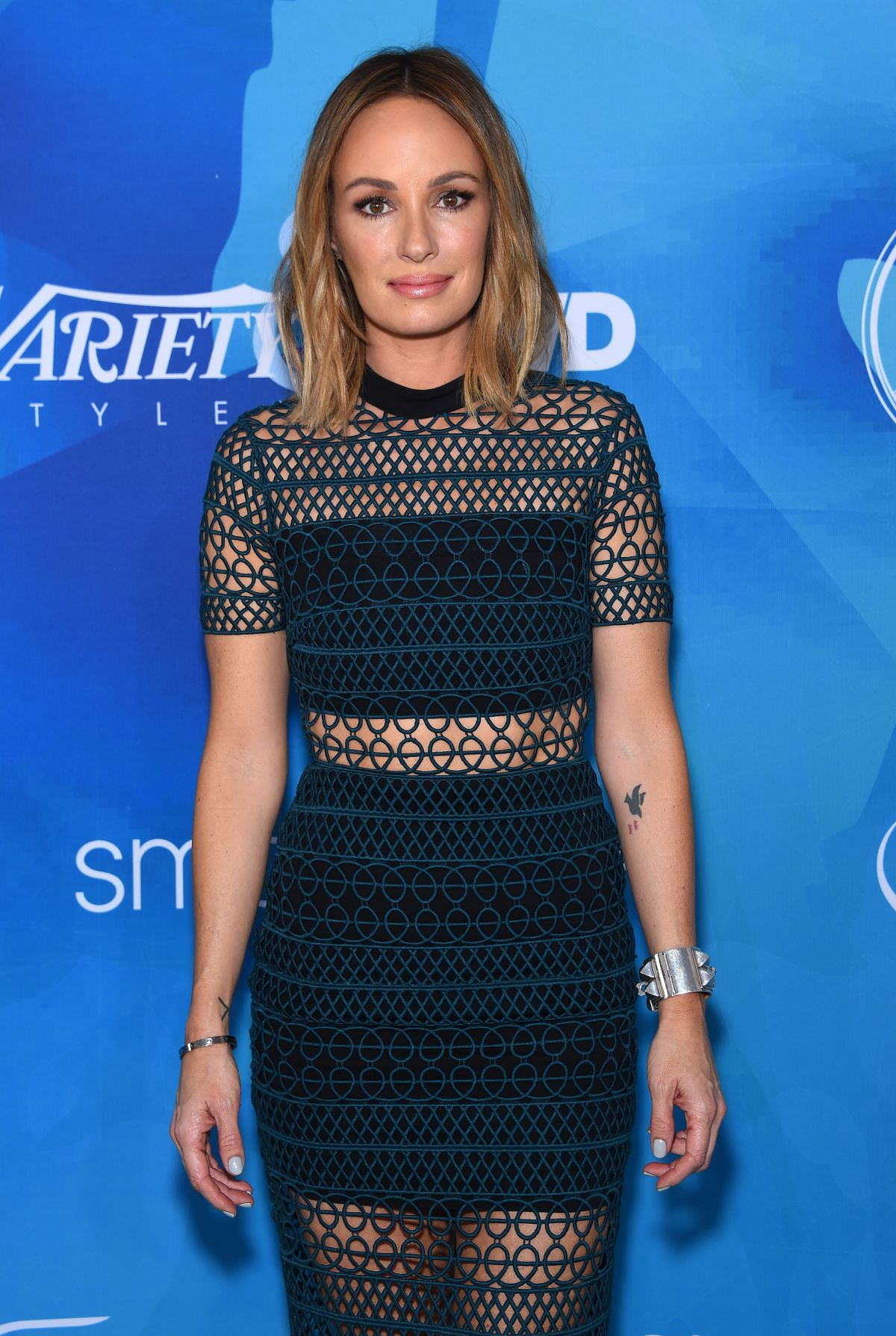 CATT SADLER at WWD and Variety's Stylemakers Event in Culver City 11/19/2015
