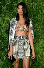 CHANEL IMAN at 12th Annual CFDA/Vogue Fashion Fund Awards in New York 11/02/2015