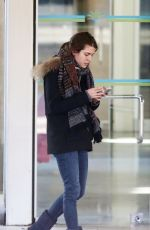 CHARLOTTE CASIRAGHI Arrives at Nice Airport 11/24/2015